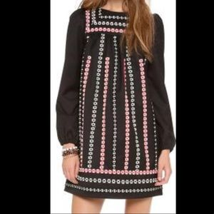 Final Price - RED Valentino embroidered dress
